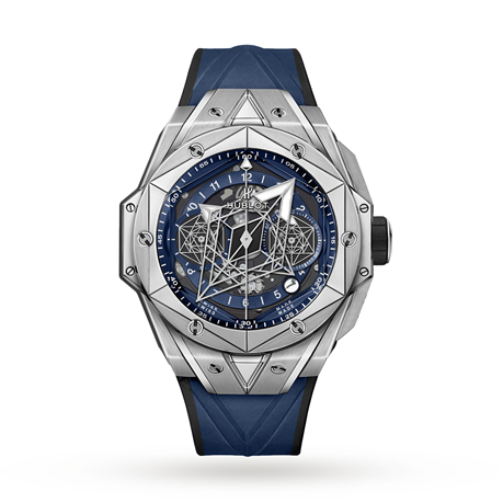 Hublot Horloge Big Bang Unico Sang Bleu II 45mm 418.NX.5107.RX.MXM20