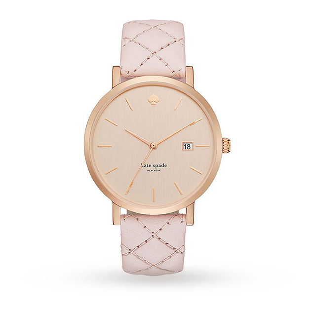 Kate Spade New York Ladies Metro Grand Quilted Watch