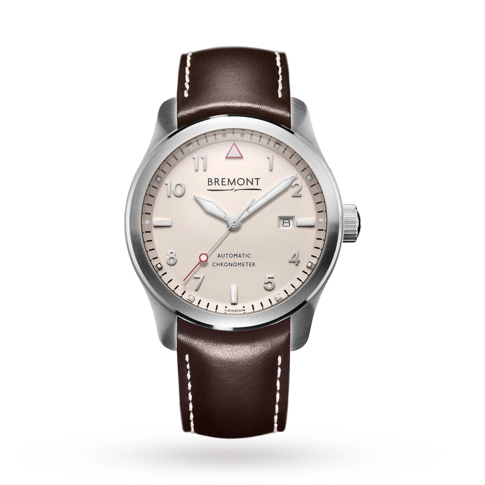 Bremont SOLO White Mens Watch