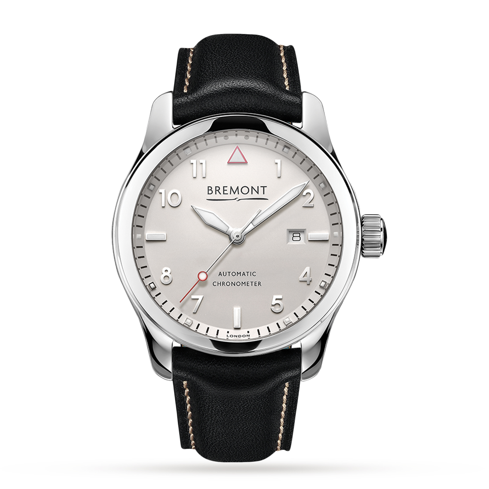 Bremont SOLO Polished White Mens Watch