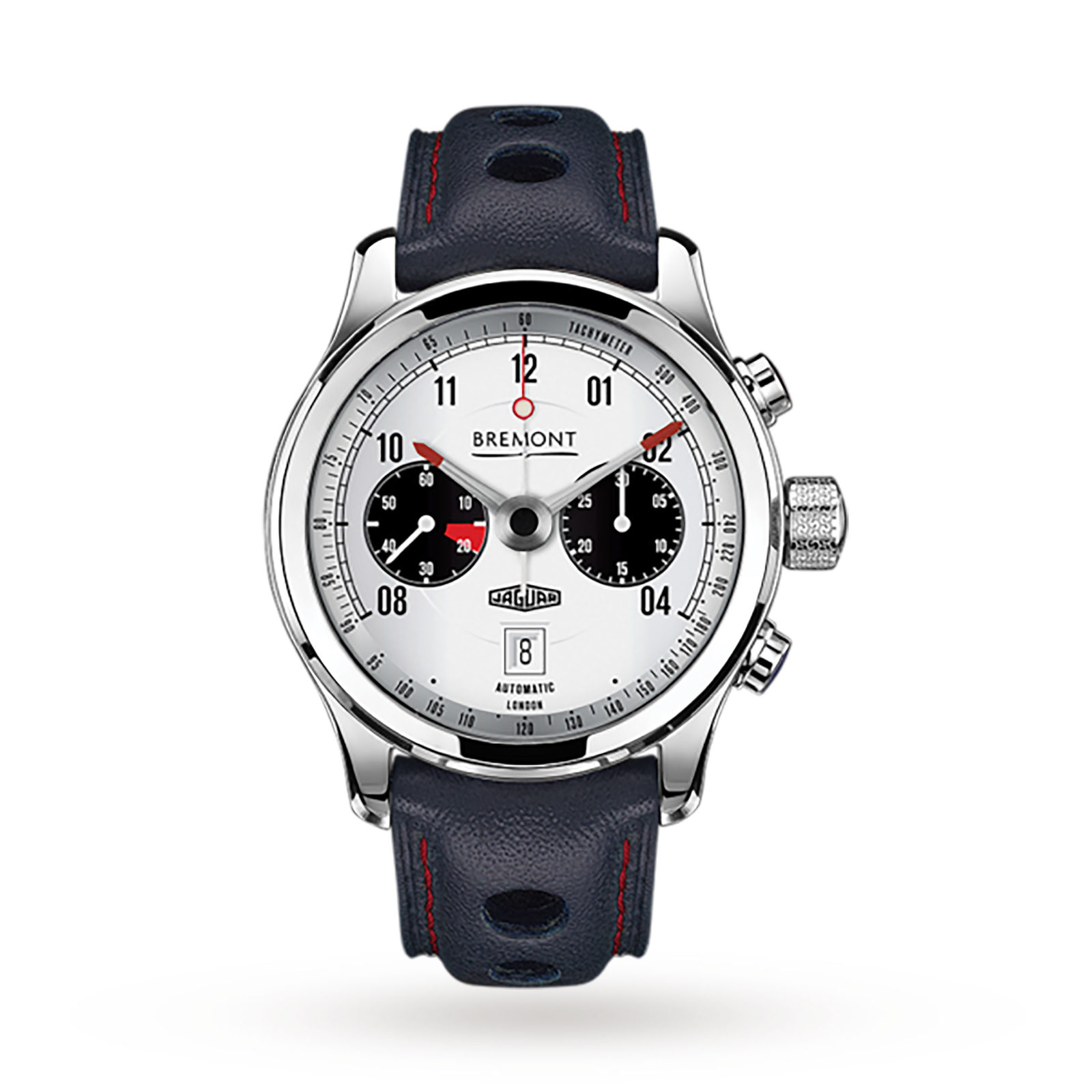 Bremont Jaguar MKII White Mens Watch