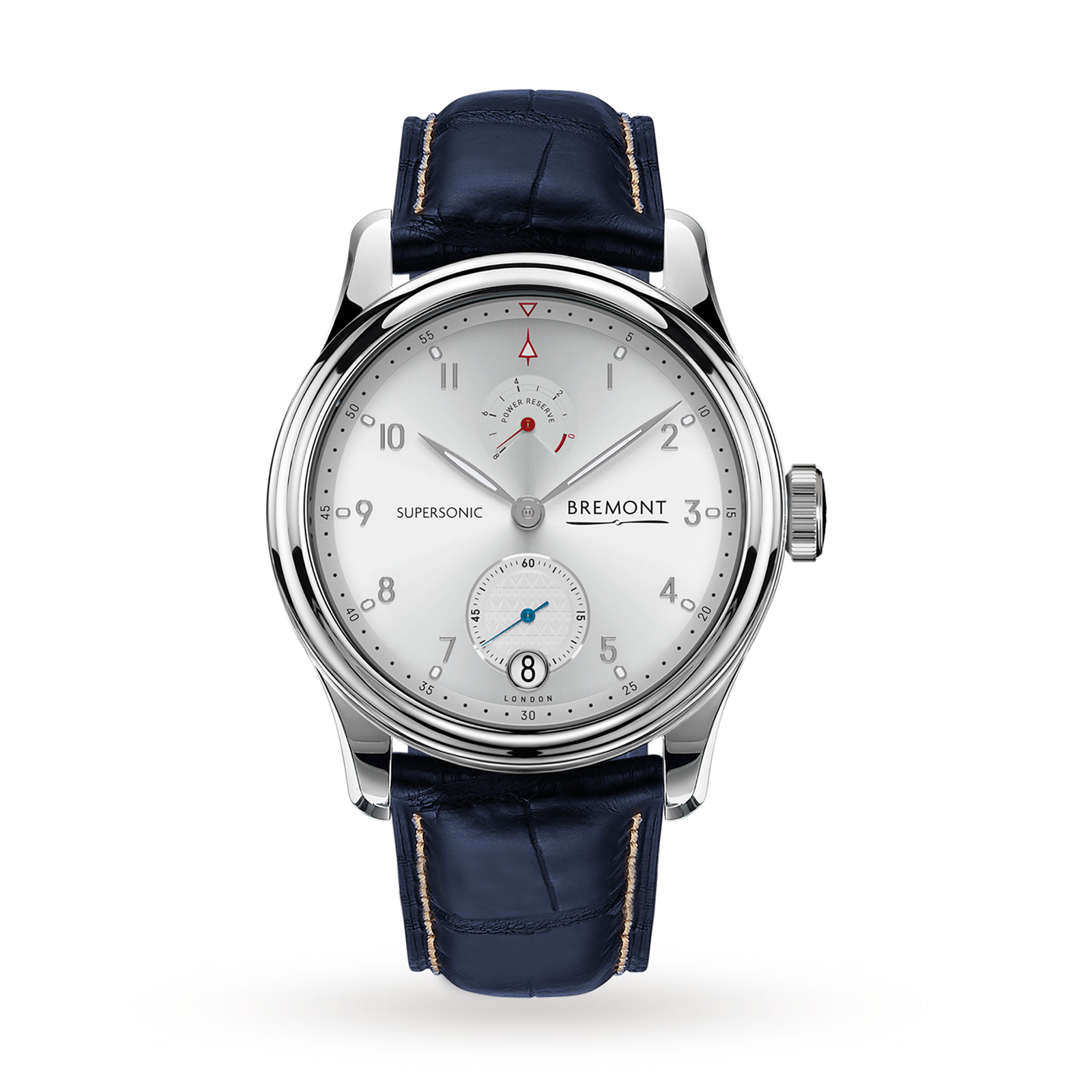 Bremont Supersonic White Gold Limited Edition Mens Watch