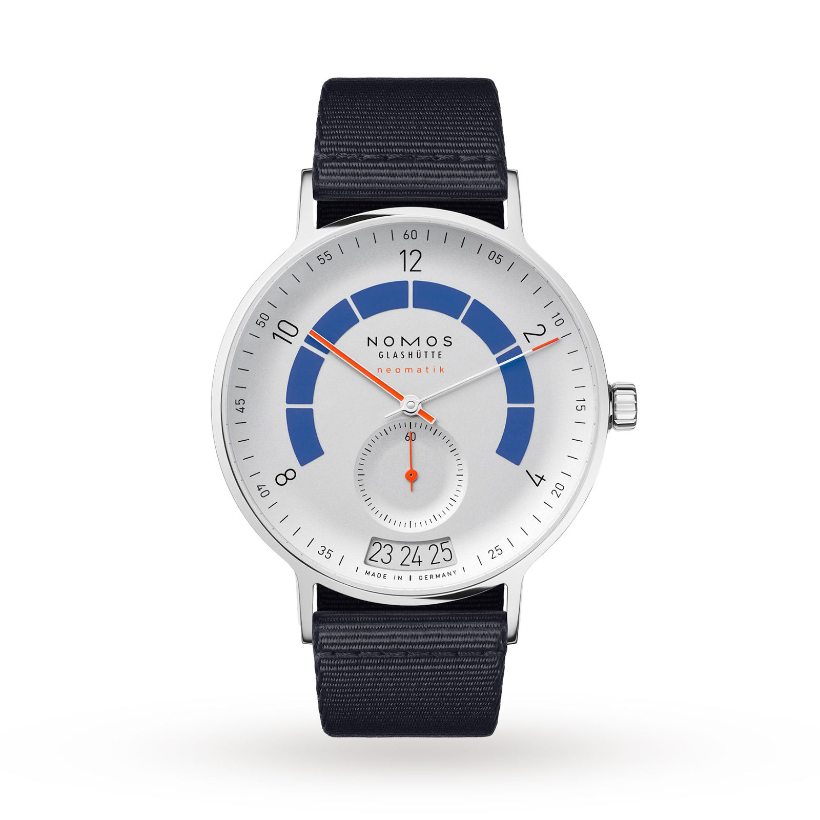NOMOS Glashutte Autobahn Neomatik 41 Date Sports Grey Mens Watch