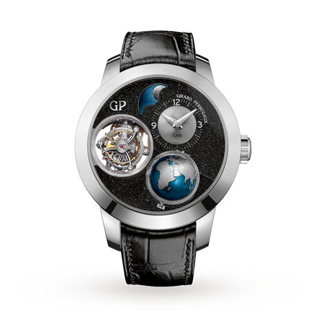 Girard Perregaux Bridges Planetarium Tri-Axial Tourbillon Earth to Sky Edition