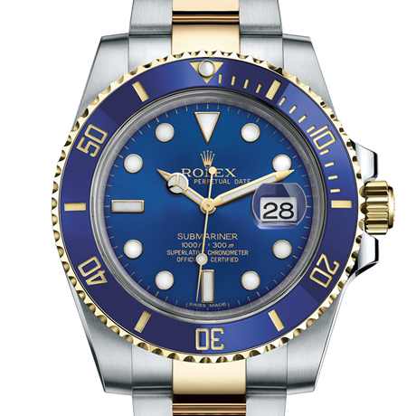 Rolex Submariner Date Oyster, 40 mm, Oystersteel and yellow gold M116613LB-0005