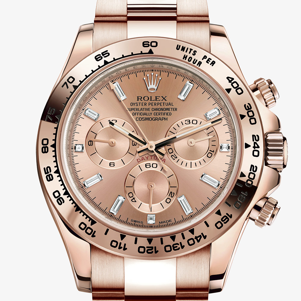 Rolex Cosmograph Daytona Oyster 40 Mm Everose Gold M116505 0012
