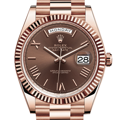 Rolex Day-Date 40 Oyster, 40 mm, Everose gold M228235-0002