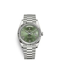 Rolex Day-Date 40 Oyster, 40 mm, white gold M228239-0033
