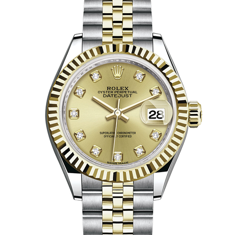 Rolex Lady-Datejust Oyster, 28 mm, Oystersteel and yellow gold M279173-0011