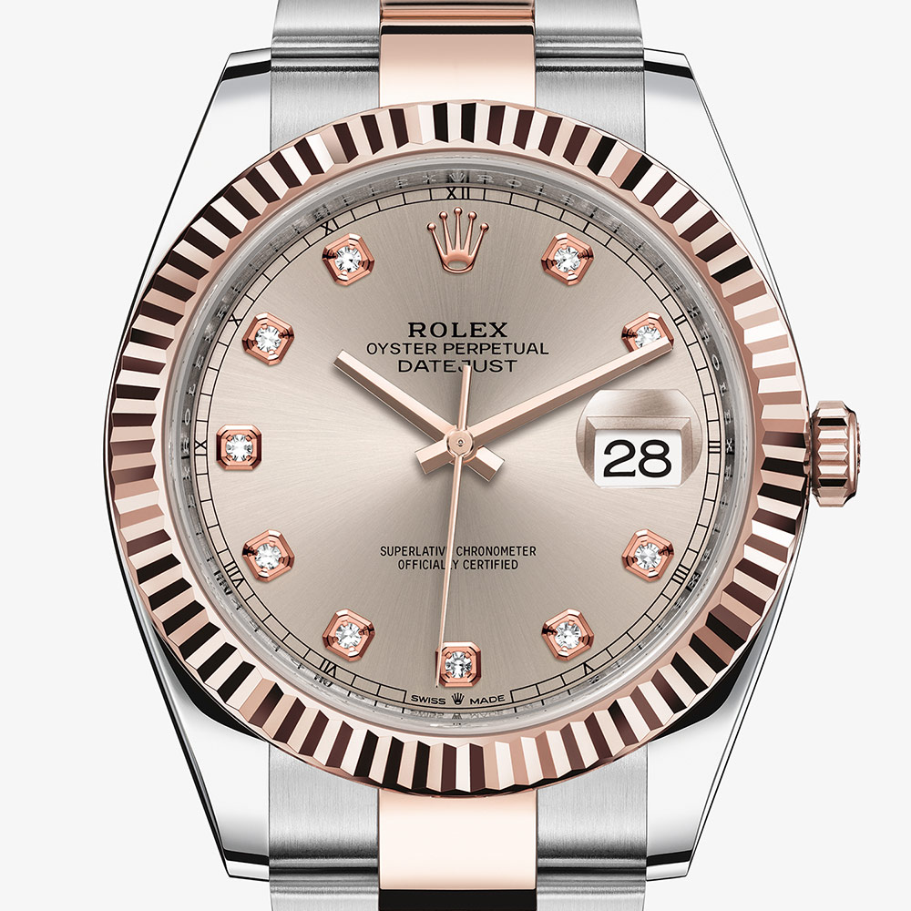 Rolex Datejust 41 Oyster, 41 mm, Oystersteel and Everose gold M126331,0007