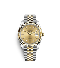 Rolex Datejust 41 Oyster, 41 mm, Oystersteel and yellow gold M126333-0010