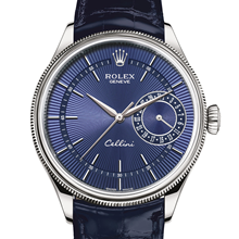 Rolex Cellini Date 39 mm, 18 ct white gold, polished finish M50519-0011