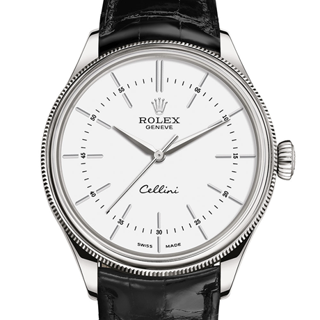 Rolex Cellini Time 39 mm, 18 ct white gold, polished finish M50509-0016