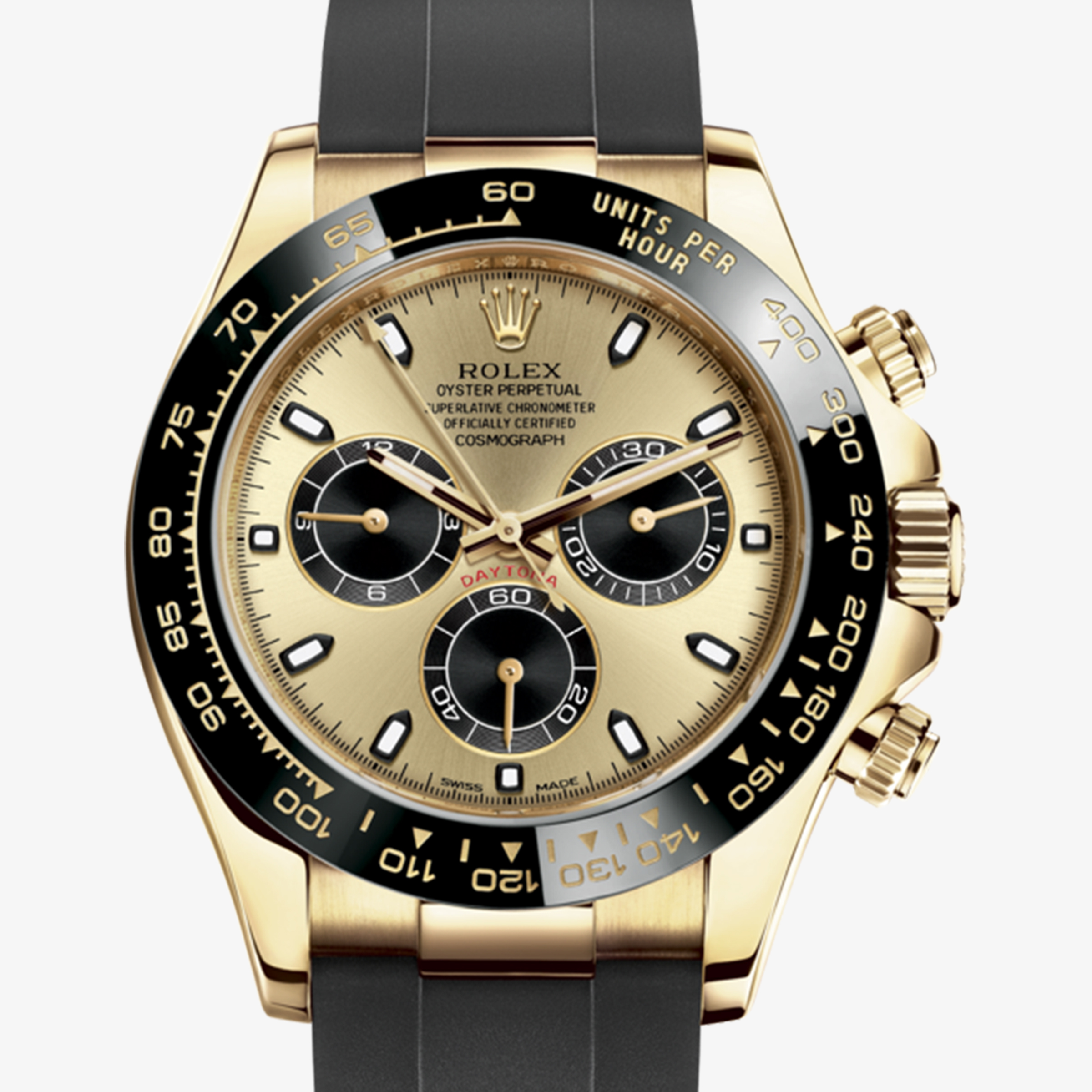 Rolex Cosmograph Daytona Oyster 40 Mm Yellow Gold M116518ln 0048