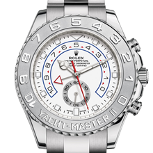 Rolex Yacht-Master II Oyster, 44 mm, white gold and platinum M116689-0002