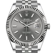 Rolex Datejust 41 Oyster, 41 mm, Oystersteel and white gold M126334-0014