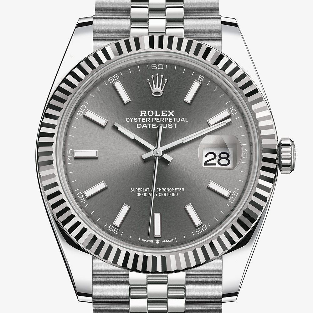Rolex Datejust 41 Oyster, 41 mm, Oystersteel and white gold M126334,0014