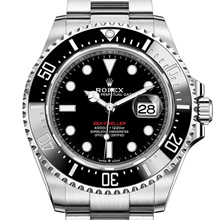 Men - Rolex Sea-Dweller Oyster, 43 mm, Oystersteel M126600-0001 - M126600-0001