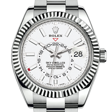Men - Rolex Sky-Dweller Oyster, 42 mm, Oystersteel and white gold M326934-0001 - M326934-0001