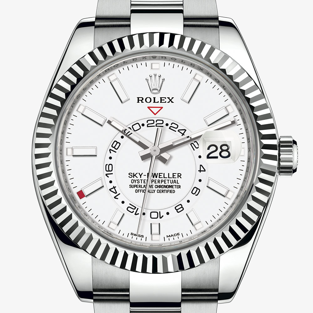 Rolex Sky,Dweller Oyster, 42 mm, Oystersteel and white gold M326934,0001