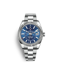 Rolex Sky-Dweller Oyster, 42 mm, Oystersteel and white gold M326934-0003