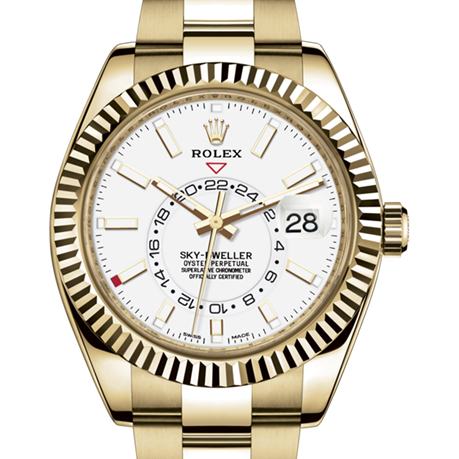 Rolex Sky-Dweller Oyster, 42 mm, yellow gold M326938-0005