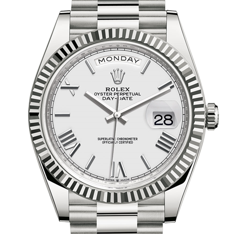 Rolex Day-Date 40 Oyster, 40 mm, white gold M228239-0046