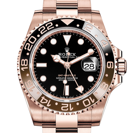 Rolex GMT-Master II Oyster, 40 mm, Everose gold M126715CHNR-0001