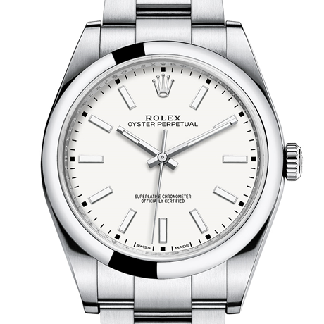 Rolex Oyster Perpetual 39 Oyster, 39 mm, Oystersteel M114300-0004
