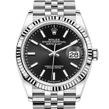 Rolex Datejust 36 Oyster, 36 mm, Oystersteel and white gold M126234-0015