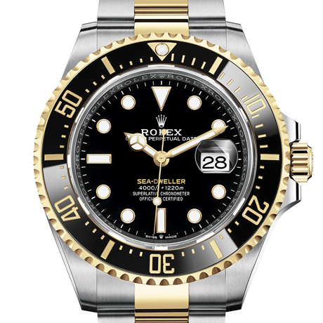 Rolex Sea-Dweller Oyster, 43 mm, Oystersteel and yellow gold M126603-0001