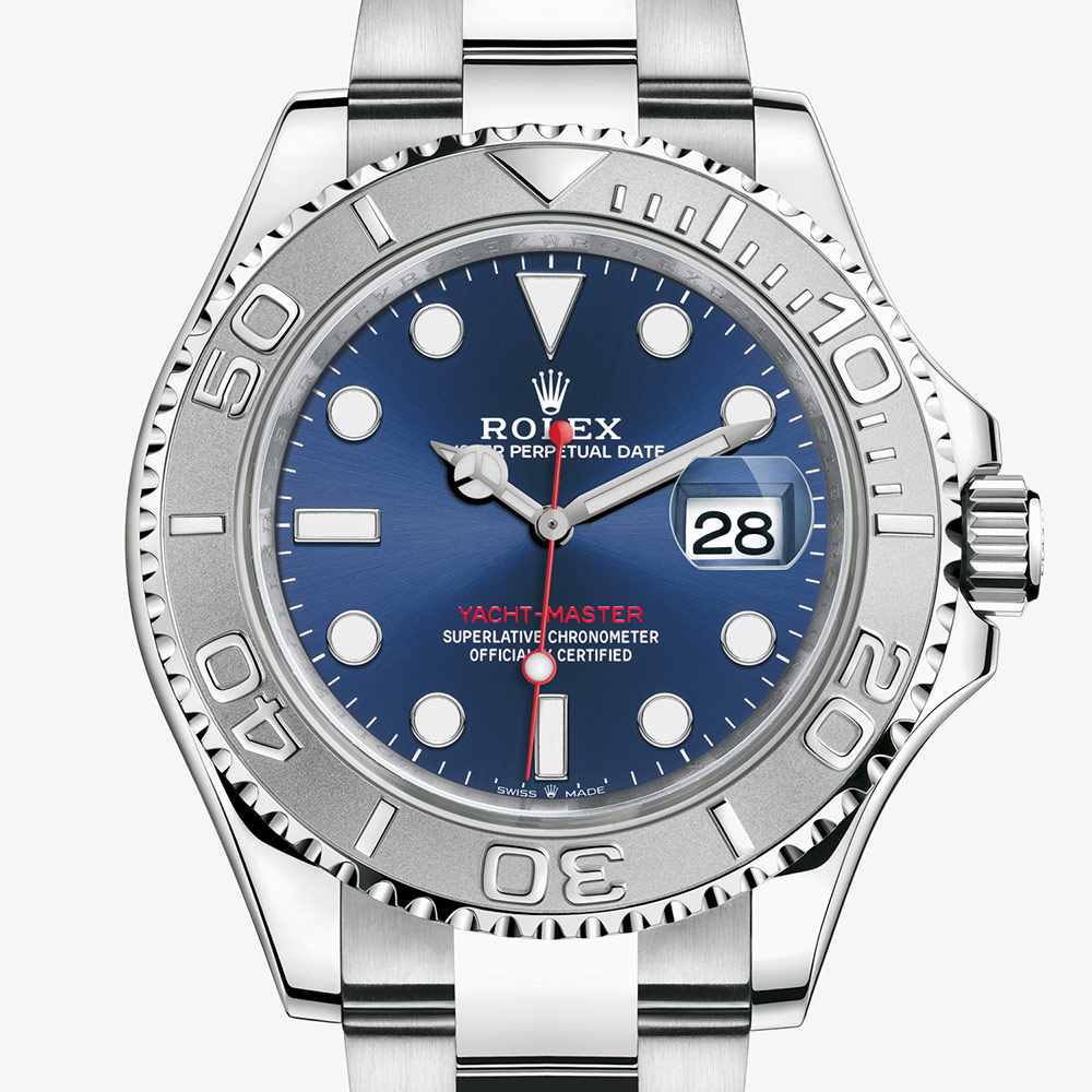 Rolex Yacht,Master 40 Oyster, 40 mm, Oystersteel and platinum M126622,0002