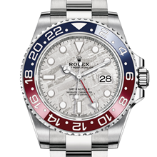 Rolex GMT-Master II Oyster, 40 mm, white gold M126719BLRO-0002