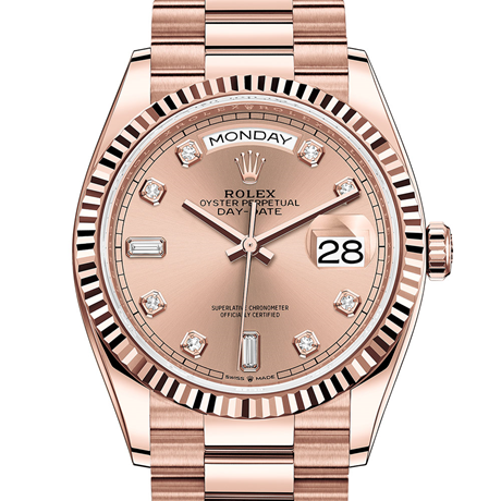 Rolex Day-Date 36 Oyster, 36 mm, Everose gold M128235-0009