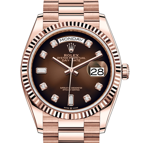 Rolex Day-Date 36 Oyster, 36 mm, Everose gold M128235-0037