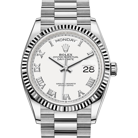 Rolex Day-Date Oyster, 36 mm, white gold M128239-0038