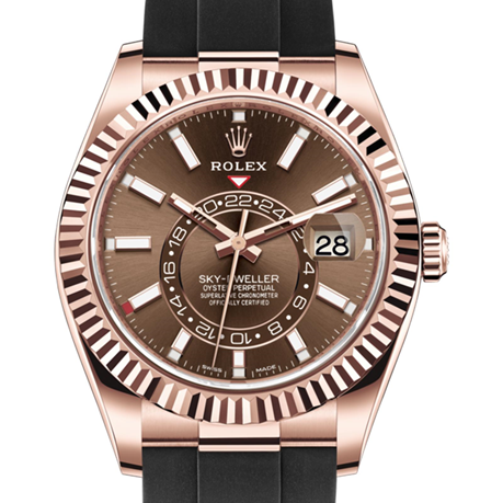 Rolex Sky-Dweller Oyster, 42 mm, Everose gold M326235-0005