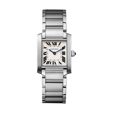 Cartier Tank Française watch, Medium model, steel
