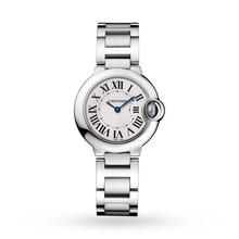 Ballon Bleu de Cartier watch, 28 mm