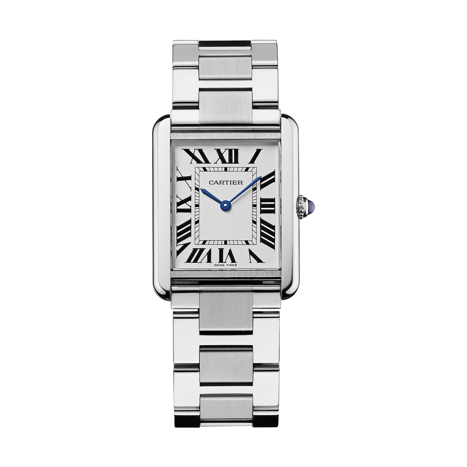 Cartier Tank Solo watch, Large model, steel