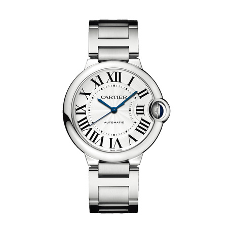 Ballon Bleu de Cartier watch, 36 mm, steel