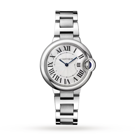 Ballon Bleu De Cartier Watch, 33 mm, Steel