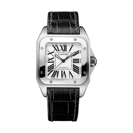 Cartier Santos 100 watch, medium model