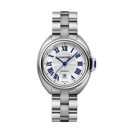 Clé de Cartier watch, 31 mm, steel