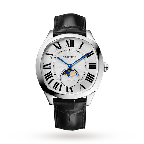 Drive de Cartier Moon Phases watch