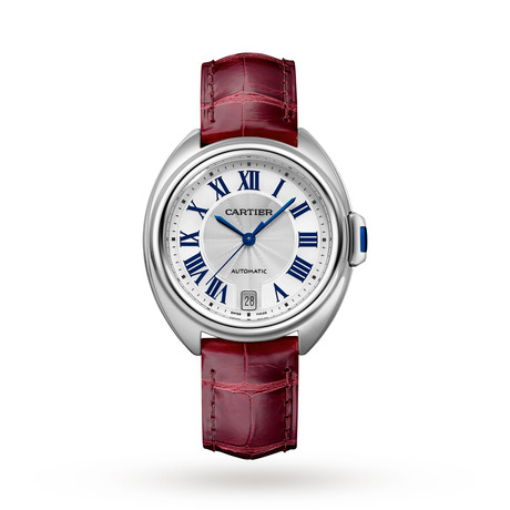 Clé de Cartier watch, 35 mm, steel