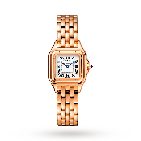 Panthère de Cartier watch, Small model, rose gold