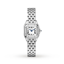 Panthère de Cartier watch Mini, Steel