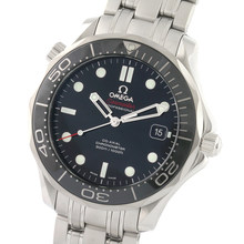 Omega Seamaster 300M 41mm Mens Divers Watch Black Dial