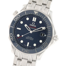 Omega Seamaster 300M 41mm Mens Divers Watch Blue Dial